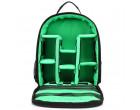 Рюкзак Huwang DAC-3461G black/green