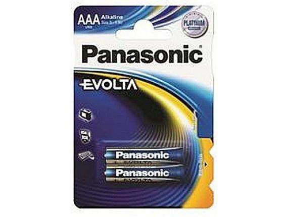 Батарейка Panasonic LR03 Evolta AAA, 1x2шт. (LR03EGE/2BP)