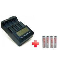 Зарядное устройство Extradigital BM300 (AAC2816) + 4шт AA 2500 mAh