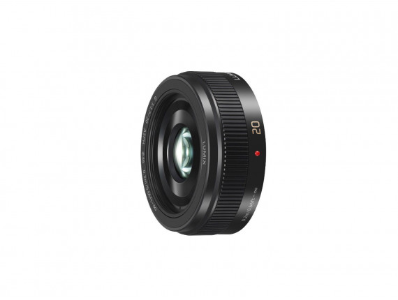 Объектив PANASONIC 20mm f/1.7 H-H020AE-K Metal Black