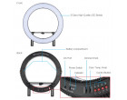 Кольцевой свет Falcon DVR-512DVC LED Ring (32W)