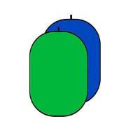 Фон в пружинной рамке Falcon RBP-6276/BCP-1001 Chroma Key blue/green (зелёный/синий)