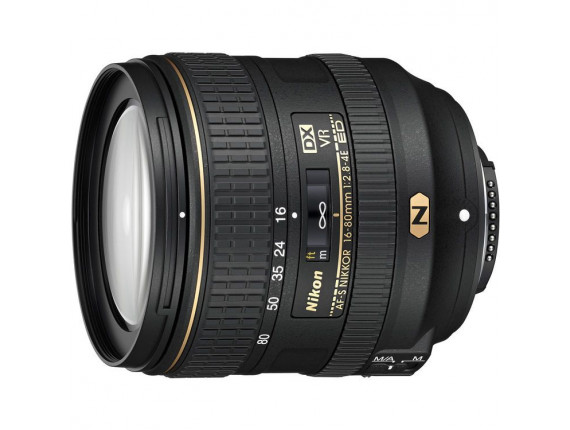 Объектив Nikon AF-S DX Nikkor 16-80mm f/2.8-4E ED VR