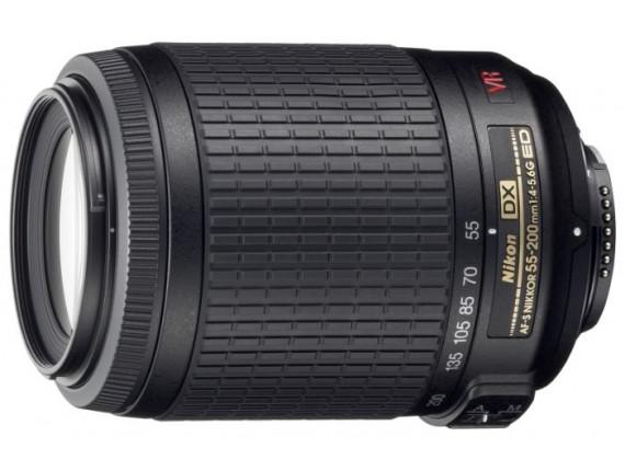 Объектив Nikon AF-S DX Nikkor 55-200mm f/4-5.6G ED VR II