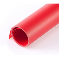 Фон для съёмки Visico PVC-1020 Red (100x200см)