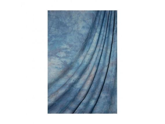 Фон тканевый Savage Accent Crushed Muslin Apex Blue 3.04m x 3.65m