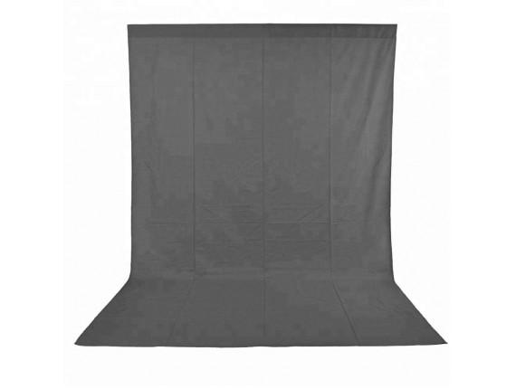 Фон студийный тканевый Visico PBM-1827 grey 1,8х2,7м