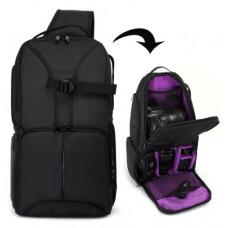 Рюкзак Huwang DAC-0303P black/purple