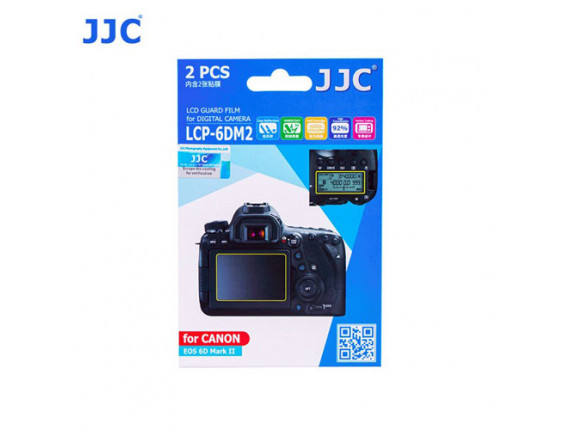 Защита экрана JJC LCP-6DM2 (для Canon EOS 6D Mark II)
