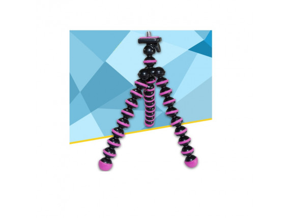 Штатив Joby Gorillapod Mini black/pink (аналог)