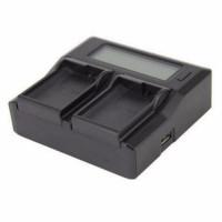 Зарядное устройство Kingma для Canon LP-E6 Dual Charger LCD
