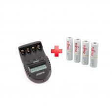 Зарядное устройство La Crosse BC 500 + Fujitsu 1900mAh x 4шт