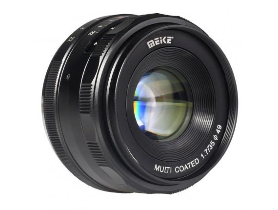 Объектив Meike 35mm f/1.7 MC X-mount для Fujifilm (MKEF2817)