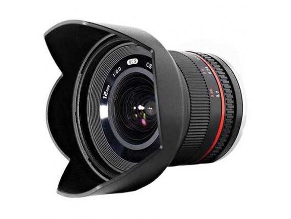 Объектив Samyang 12mm f/2.0 NCS CS (Fuji)