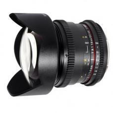 Объектив Samyang 14mm T3.1 AS UMC (VDSLR-Cine) (Canon)