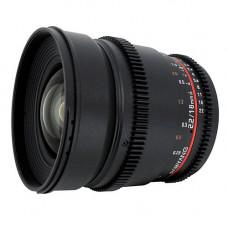 Объектив Samyang 16mm T2.2 ED AS UMC CS (VDSLR-Cine) (Canon)