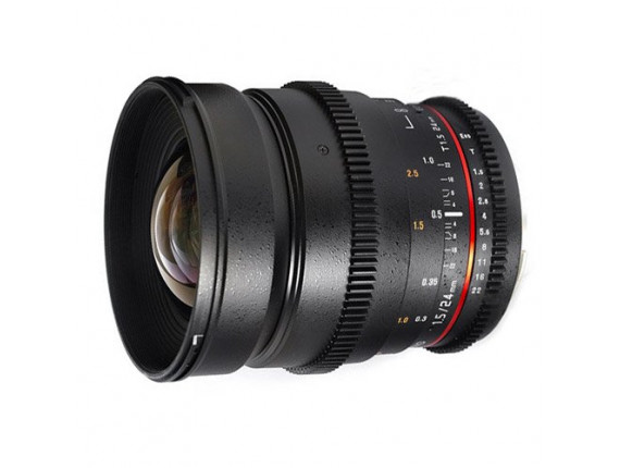 Объектив Samyang 24mm T1.5 ED AS UMC VDSLR (Nikon)