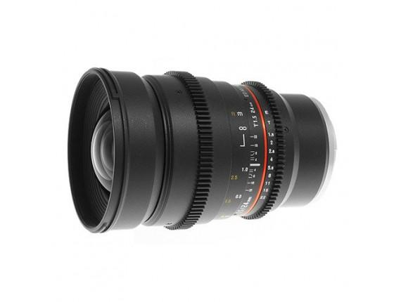 Объектив Samyang 24mm T1.5 ED AS UMC VDSLR (Sony NEX)