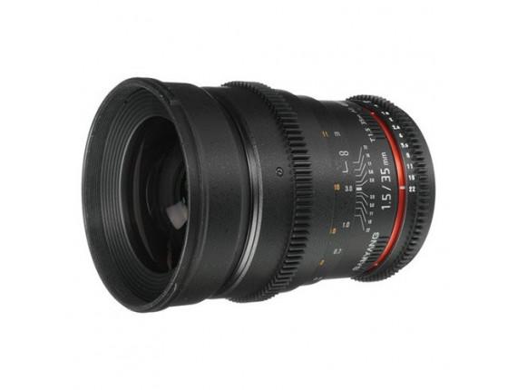 Объектив Samyang 35mm T1.5 AS UMC (VDSLR-Cine) (Canon)