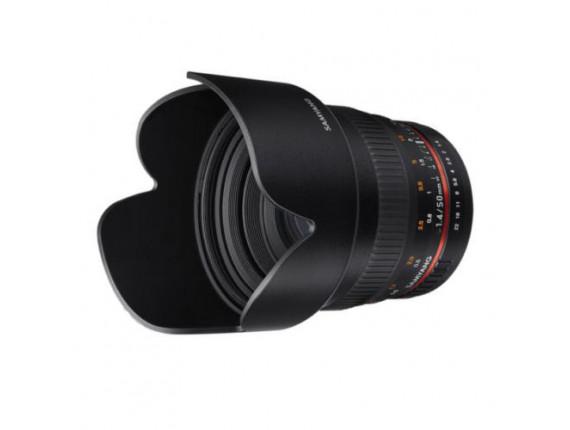 Объектив Samyang 50mm f/1.4 AS UMC (Canon)