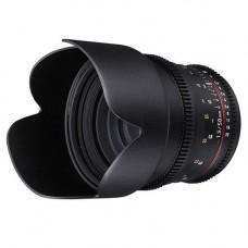 Объектив Samyang 50mm T1.5 AS UMC (VDSLR-Cine) (Nikon)