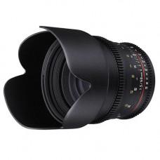 Объектив Samyang 50mm T1.5 AS UMC (VDSLR-Cine) (Sony A)