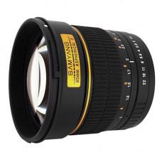 Объектив Samyang 85mm f/1.4 Aspherical IF (Sony)