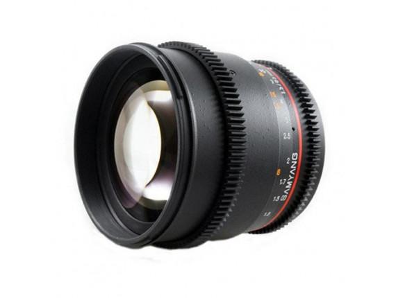 Объектив Samyang 85mm T1.5 AS UMC (VDSLR-Cine) (Canon)