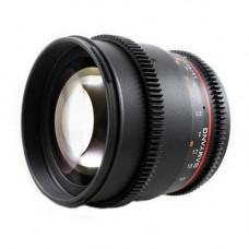 Объектив Samyang 85mm T1.5 AS UMC (VDSLR-Cine) (Nikon)