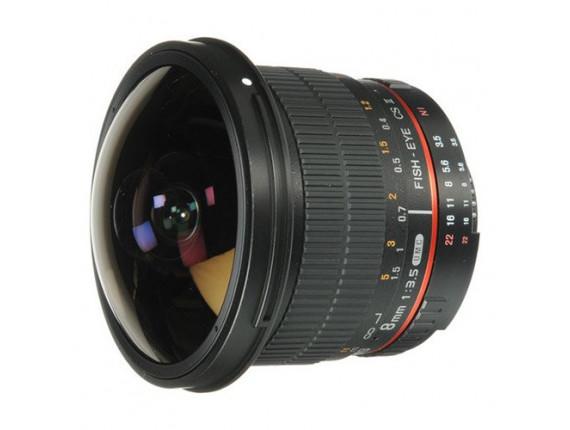 Объектив Samyang 8mm f/3.5 Aspherical IF MC Fish-eye (Nikon)