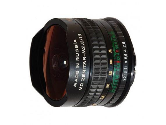 Объектив Zenitar 16mm f/2.8 Fisheye (Sony)