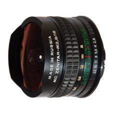 Объектив Zenitar 16mm f/2.8 Fisheye (Nikon)