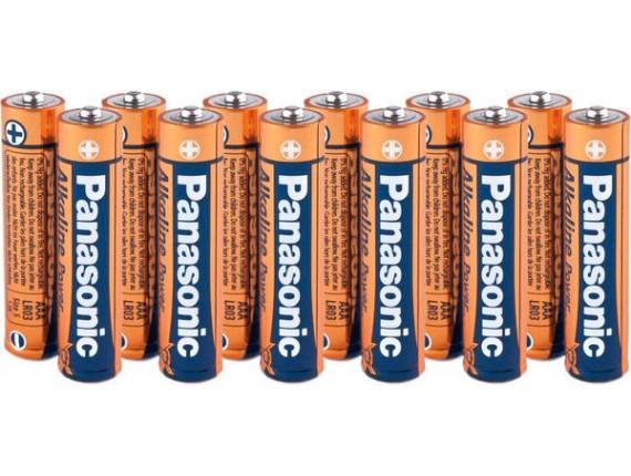 Батарейка Panasonic LR03 Alkaline Power AAA, 12шт. (LR03REB/2B12)