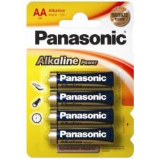 Батарейка Panasonic Alkaline Power AA, 4 шт. (LR6REB/4BP)