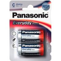Батарейка Panasonic EVERYDAY POWER C BLI 2 ALKALINE (LR14REE/2BR)