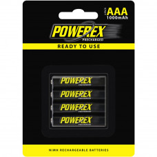 Аккумулятор Powerex MHRAAAP4 1000mAh (4xAAA)