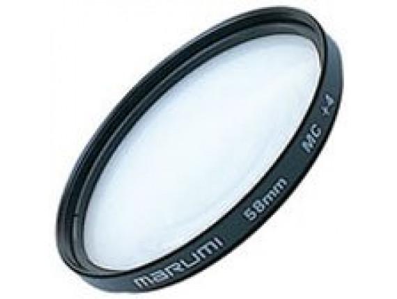 Светофильтр Marumi Close-UP+4 MC 62mm