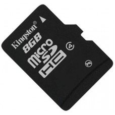 Карта памяти Kingston microSDHC 8GB Class 4 без адаптера (SDC4/8GBSP)