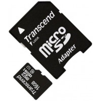 Карта памяти Transcend microSDHC 16GB Class 10 UHS-I + SD адаптер (TS16GUSDU1)