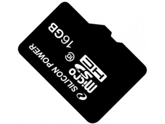 Карта памяти Silicon Power microSDHC 16GB Class 10 без адаптера (SP016GBSTH010V10)