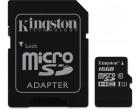 Карта памяти Kingston microSDHC 16GB Class 10 Gen.2 + SD адаптер (SDC10G2/16GB)