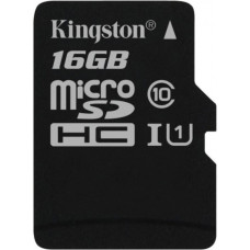 Карта памяти Kingston microSDHC 16GB Class 10 Gen.2 без адаптера (SDC10G2/16GBSP)