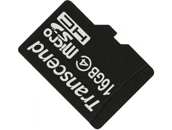Карта памяти Transcend microSDHC 16GB Class 4 без адаптера (TS16GUSDC4)
