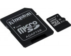Карта памяти Kingston microSDHC 32GB Class 10 Gen.2 + SD адаптер (SDC10G2/32GB)