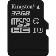 Карта памяти Kingston microSDHC 32GB Class 10 Gen.2 без адаптера (SDC10G2/32GBSP)