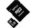 Карта памяти Silicon Power microSDHC 32GB Class 10 + SD адаптер (SP032GBSTH010V10SP)