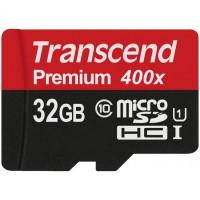 Карта памяти Transcend microSDHC 32GB Class 10 UHS-I (TS32GUSDCU1)