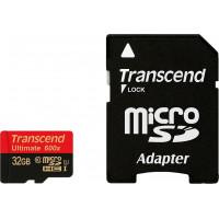 Карта памяти Transcend microSDHC 32GB Class 10 UHS-I Ultimate (TS32GUSDHC10U1)