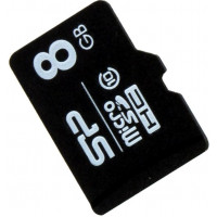 Карта памяти Silicon Power microSDHC 8GB Class 10 без адаптера (SP008GBSTH010V10)