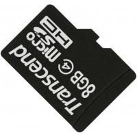 Карта памяти Transcend microSDHC 8GB Class 4 без адаптера (TS8GUSDC4)